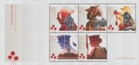 AUS SGMS4887 A Century of Service: War Memorials miniature sheet
